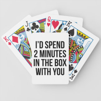 In the Box Bicycle Playing Cards