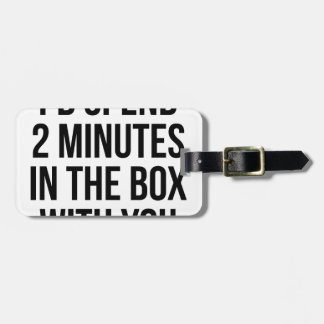 In the Box Luggage Tag