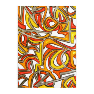 In The Bush-Hand Painted Abstract Art