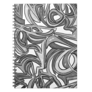 In The Bush-Hand Painted Abstract Art Notebooks