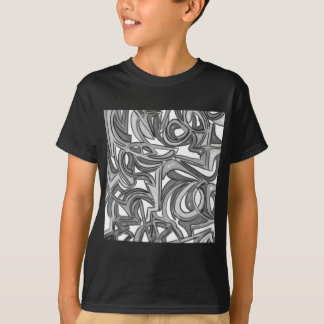 In The Bush-Hand Painted Abstract Art T-Shirt