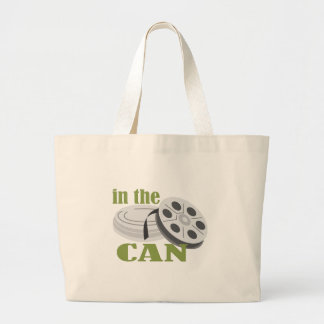 In the Can Large Tote Bag