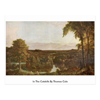 In The Catskills By Thomas Cole Postcard