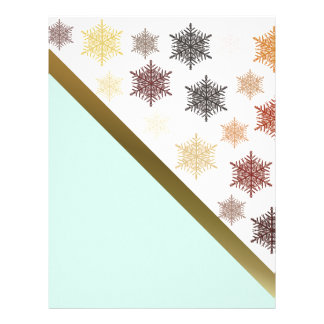 In the Christmas Night Personalized Letterhead