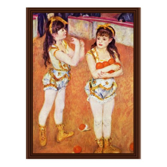 In The Circus Fernando By Pierre-Auguste Renoir Postcard