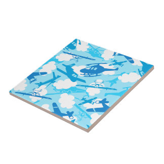 In the clouds tile