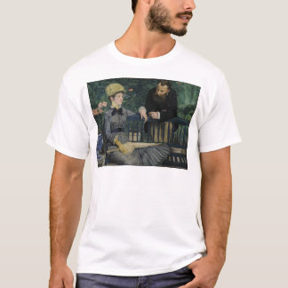 In the Conservatory - 1878 - 1879 by Edouard Manet T-Shirt