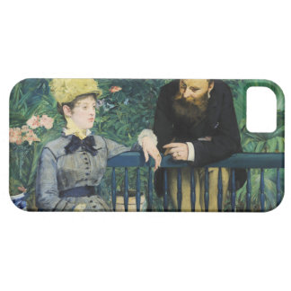 In the Conservatory by Edouard Manet in 1879 iPhone 5 Case