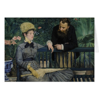 In the Conservatory - Édouard Manet (1879) Card