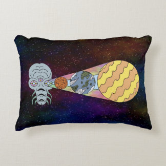 In the Cosmic God's Eye Decorative Pillow