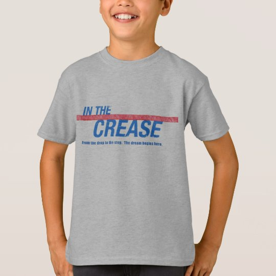 IN THE CREASE MOVIE KIDS GRAY T T-Shirt
