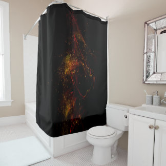 In The Dark Shower Curtain