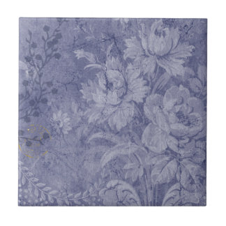 In The Deep Blue Ceramic Tile