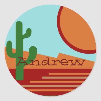 In the Desert Stickers