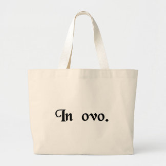 In the egg. tote bag