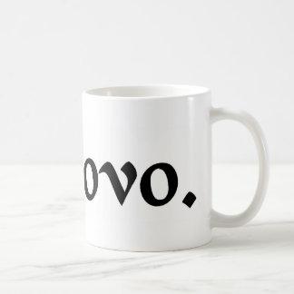 In the egg. coffee mug