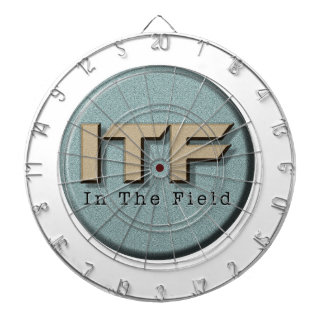 In The Field logo Dartboard