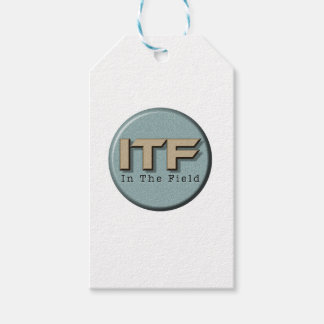 In The Field logo Gift Tags