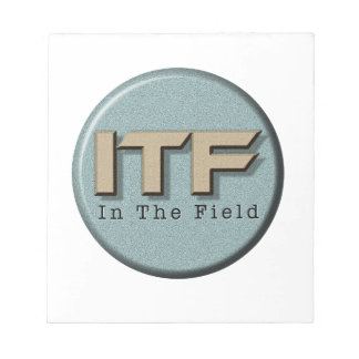 In The Field logo Notepad