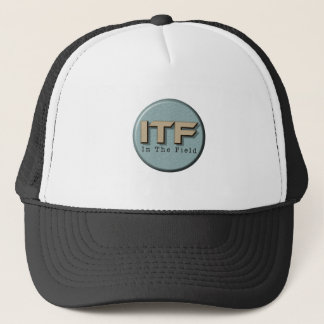 In The Field logo Trucker Hat