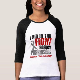 In The Fight Against Parkinson's Disease GRANDPA T-Shirt