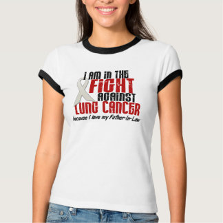 In The Fight Lung Cancer FATHER-IN-LAW T-shirts