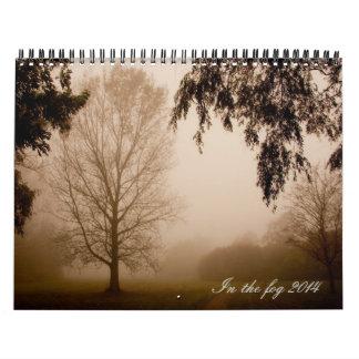 In the fog 2015 wall calendar