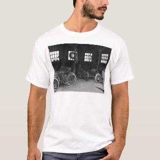 In the Garage Vintage WWII T-Shirt