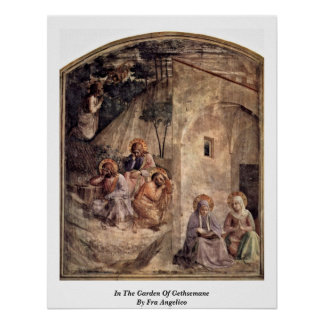 In The Garden Of Gethsemane By Fra Angelico Poster