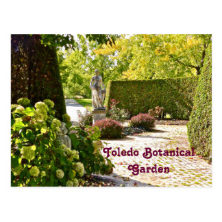 """IN THE GARDEN"" TOLEDO BOTANICAL GARDENS (PHOTOG) POSTCARD"