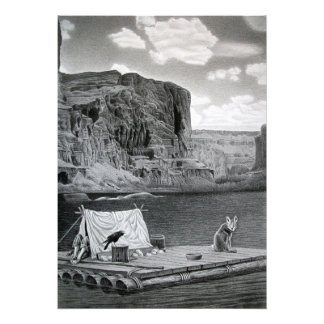 IN THE GRAND CANYON PHOTO PRINT