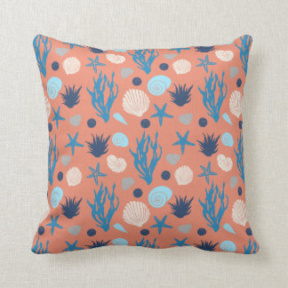In the He is - orange Throw Pillow