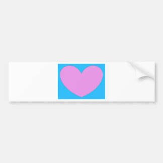 In the Heart Bumper Sticker