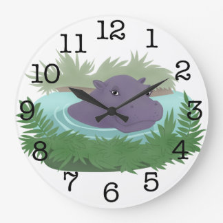 In the Hippo Pond Clock