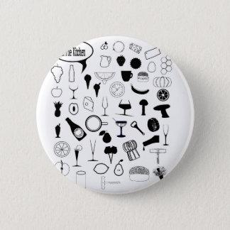 In The Kitchen 2 Inch Round Button