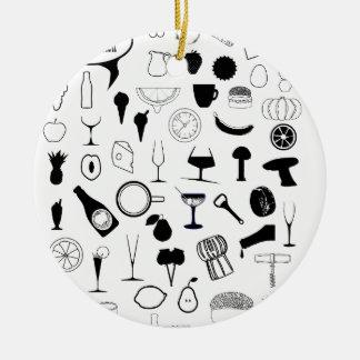 In The Kitchen Ceramic Ornament