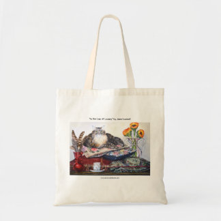 In the Lap of Luxury Tote Bag