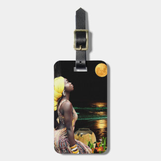 In the Light of the Moon Luggage Tag