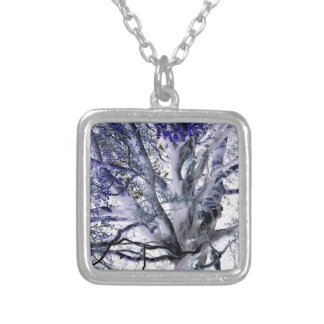 IN THE MAGIC WOOD SILVER PLATED NECKLACE