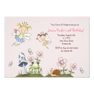 In the Meadow Birthday Party Invitation