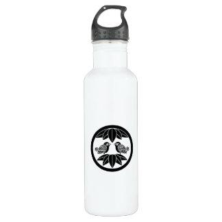 In the medium flower opposite it is in ten bamboo 710 ml water bottle