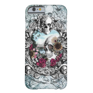 In the mirror landscape skull. barely there iPhone 6 case