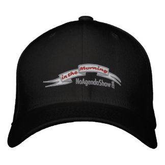 In the Morning - Dark embroidered hat