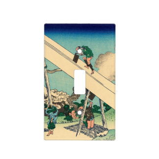 In the Mountains of Totomi Light Switch Cover