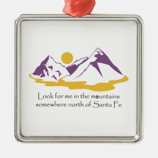 In The Mountains Ornament