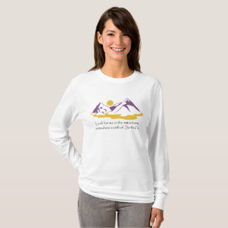 In The Mountains Woman's Long Sleeve Tee