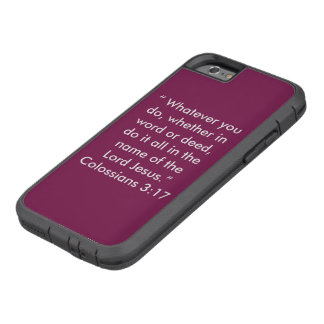 """""""In the name of Jesus"""" Iphone 6/6S Cell Phone Case"""