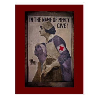 In the Name of Mercy Give Postcard