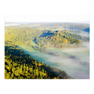 In the Natur| postcard aerial photograph