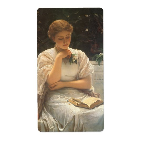 In the Orangery by Charles Edward Perugini Shipping Label